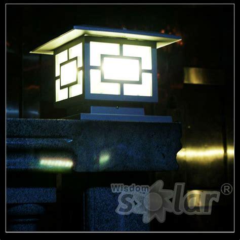 Solar Powered Solar Gate Light Solar Gate Post Pillar Solar Gate Lights