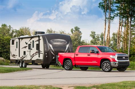 toyota tundra motorhome towing toyota tacoma behind rv autos post