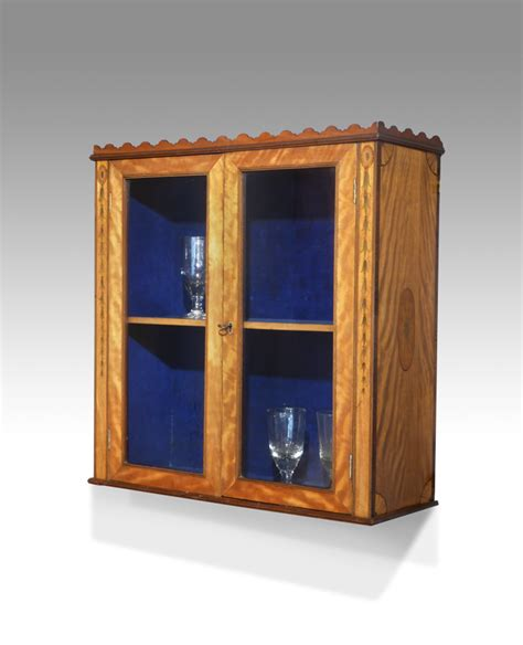 Georgian Display Cabinet Georgian Display Cabinet Antique Wall Hanging Cabinet