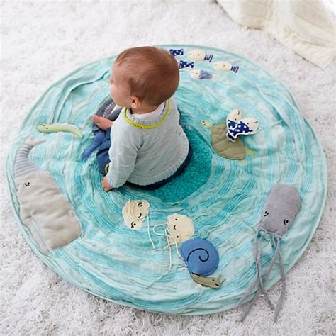Mat Baby by Be On The Sea Activity Floor Mat The Land Of Nod