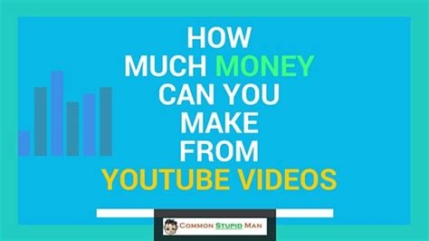make money with youtube how i made an extra 1 187 66 how much money can you make from youtube videos mmo with
