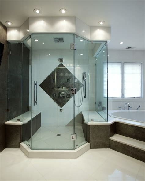 Bath And Shower In Small Bathroom spa treatment at home with stunning bath and walk in