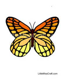 crafts monarch butterfly coloring