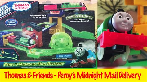 And Friends Percy Delivery Mail Diecast percy s midnight mail delivery and friends trackmaster