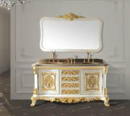 Antique Bathroom Furniture White Solid Wood Antique Bathroom Cabinet With Mirror And Classic Bathroom Vanity Bathroom