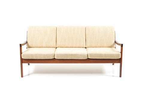 rosewood sofa senator 3 seater sofa in rosewood by ole wanscher for