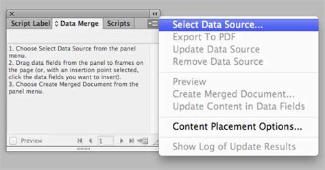 tutorial indesign data merge how to data merge in indesign cs6 tutorial gco studios