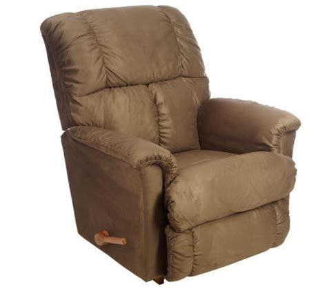 morgan recliner la z boy la z boy quot morgan quot microsuede full chaise rocker recliner