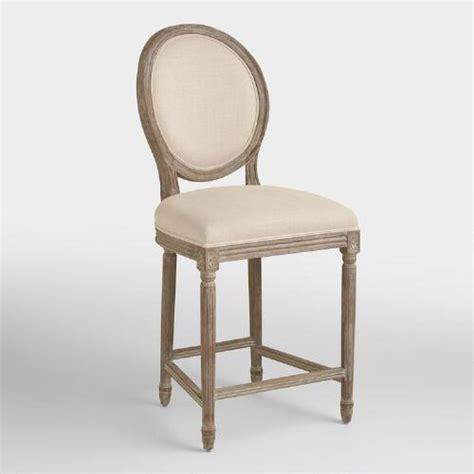 linen bar stools kirklands linen counter stool world market
