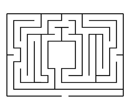 maze template amazing rodents