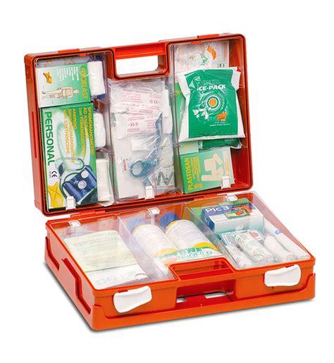 contenuto cassetta primo soccorso multired valigetta dm 388 allegato 1 e d l 81 09 04