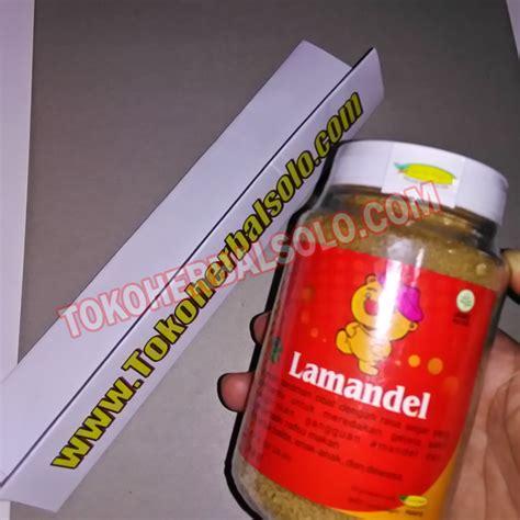 Obat Amandel Herbal lamandel obat herbal amandel dan radang kemasan botol