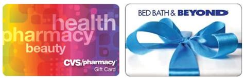 Bed Bath And Beyond Gift Card Cvs - save 10 off bed bath beyond and cvs gift cards kollel budget