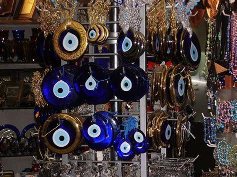 My only souvenir is an evil eye from Turkey   Man vs World
