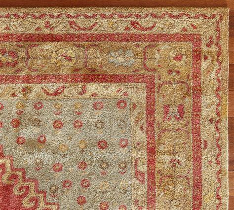 New Pottery Barn Handmade Persian Bindu Persian Style Area Pottery Barn Rugs