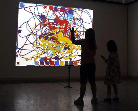 painting interactive sarma students develop interactive project announce
