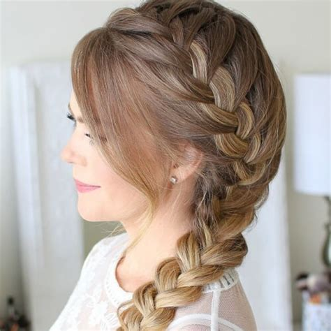 french braid low side 50 french braid hairstyles hair motive hair motive