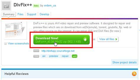 div fix free software quot divfix quot that makes it possible to