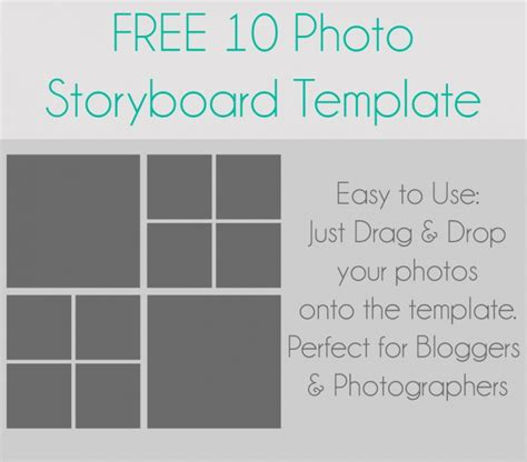 photography storyboard templates 10 photo storyboard template halstead