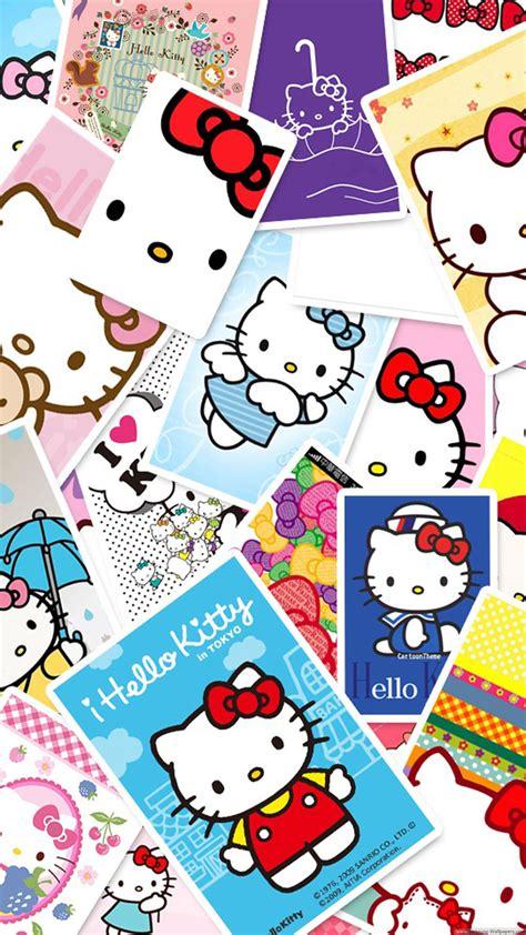 hello kitty animated wallpaper キティちゃんがいっぱい iphone7 スマホ壁紙 待受画像ギャラリー