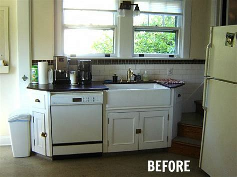 small cottage makeovers before after s cottage kitchen makeover