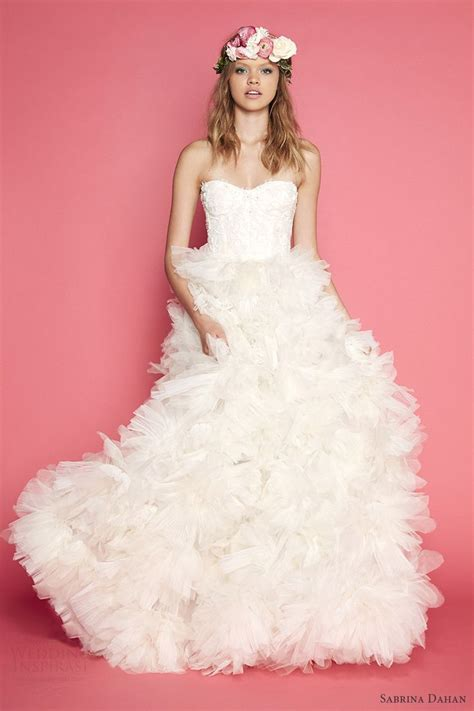 Dress Anak Sabrina Rempel Ruffle 1000 images about novias danacol on wedding gallery rosa clara bridal and