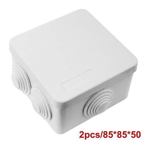 waterproof plastic junction box enclosure diy electric