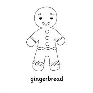 printable gingerbread template 15 gingerbread templates colouring pages free