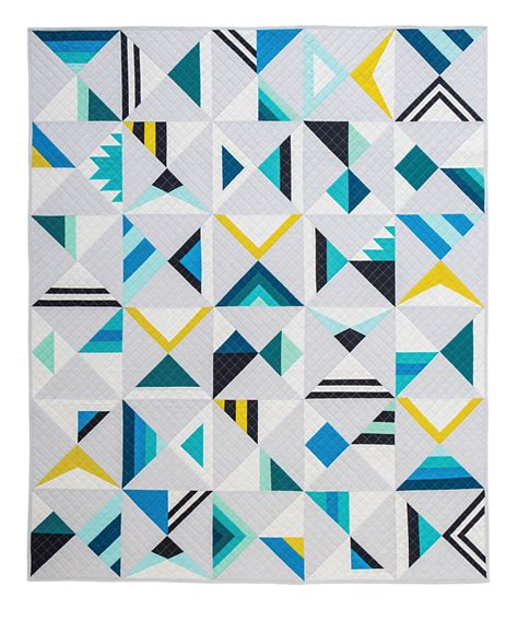 triangle pattern using c modern triangle quilts book tour and giveaway nanacompany