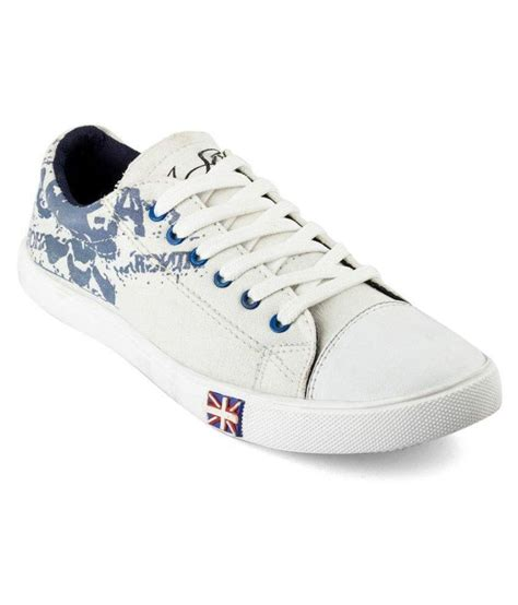 shoes deals t rock sneakers white casual shoes snapdeal price casual