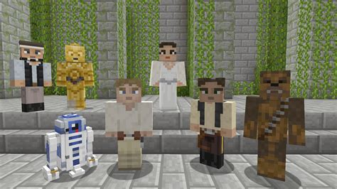 minecraft star wars mod free game minecraft star wars dlc brings favourite character skins
