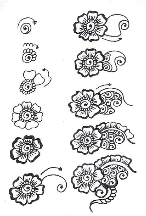 doodle name ivan gallery for gt zentangle flower patterns step by step