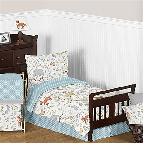 sweet jojo toddler bedding sweet jojo designs woodland toile toddler bedding