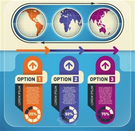 free website templates for adobe illustrator infographic elements set illustration
