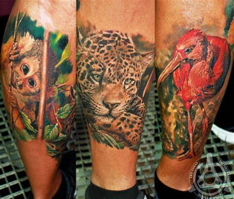 tattoo animal identification animals tattoo by led coult no 1120