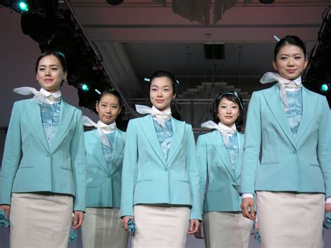 Korean Air Cabin Crew by Jet Airline Korean Airlines Pictures