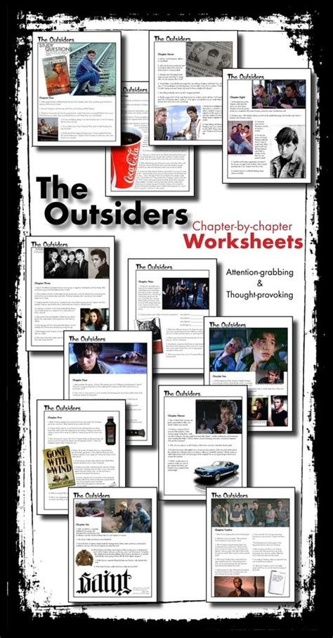 key themes of the outsiders outsiders worksheets quizzes homework discussion s e