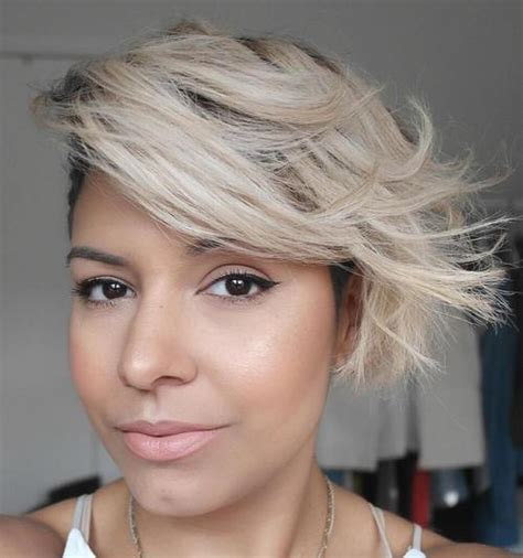 cute short sassy blonde shag haircut design 482x1174 pixel short sassy haircuts therighthairstyles com