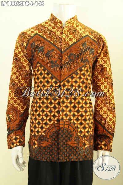 Hem Pria Keren by Batik Hem Keren Pria Muda Busana Batik Berkelas Lelaki