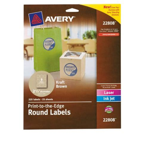 avery 2 5 inch round labels images frompo