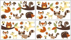 Nursery Jungle Wall Stickers forest animals wall decals vinyl stickers for kids or