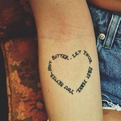 heartbeat tattoo on bicep lettering heart arm tattoo design tattooshunt com