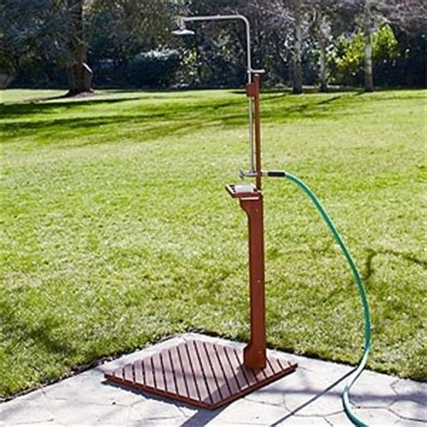 Garden Hose Shower Outdoor Shower Connects To Garden Hose For The Home