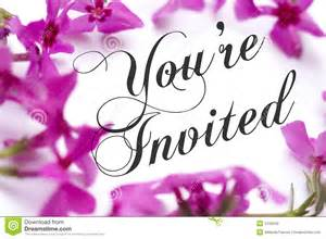 you are invited stock photo image 5155240