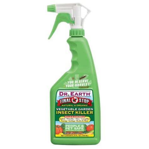 Dr Earth 24 Oz Ready To Use Vegetable Garden Insect Killer For Vegetable Garden