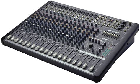 Mixer Audio mackie cfx16mkii 16 channel live sound mixer w fx pssl