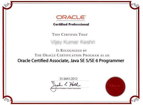 Certification On Resume Example by Ocajp Scja Sun Certified Java Associate Certification