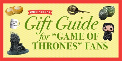 game of thrones gifts game of thrones gifts for fans business insider