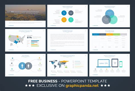 Free Business Powerpoint Template By Louis Twelve On Behance Business Ppt Templates Free