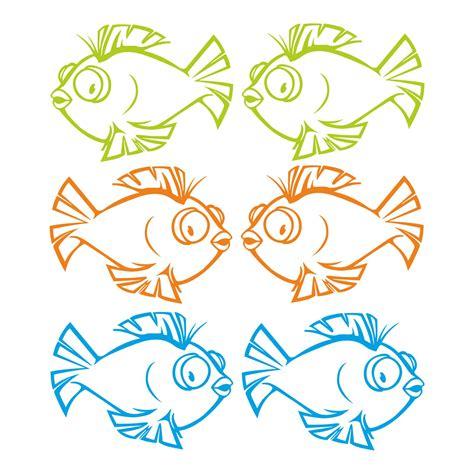 Folien Aufkleber Maritim by Fliesen Aufkleber Fische Fisch Wandtattoo Bad Maritim